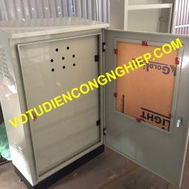 tủ điện ngoài trời 2 lớp cánh