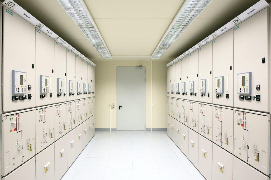 Phòng chứa tủ điện phân phối