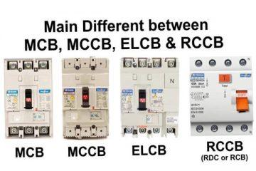 Rcb là gì? Phân biệt RCB, MCB, MCCB, RCBO, ELCB